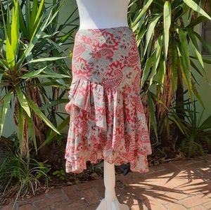 Ralph Lauren Sport Cotton Ruffle Skirt